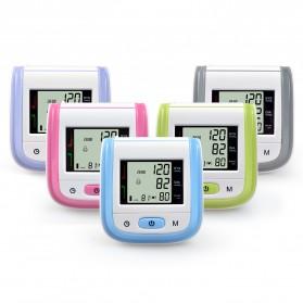 Gelang Pengukur Tekanan Darah Elektronik Sphygmomanometer Blood Pressure - Blue - 4