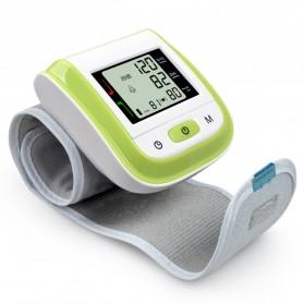 Gelang Pengukur Tekanan Darah Elektronik Sphygmomanometer Blood Pressure - Blue - 5