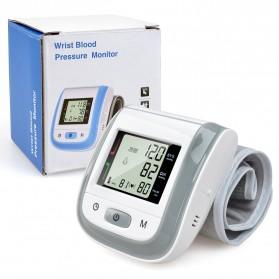 Gelang Pengukur Tekanan Darah Elektronik Sphygmomanometer Blood Pressure - Blue - 6