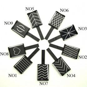 Cat Eye Magnet Sticks Nail Art for Magnetic Gel Polish - Pattern 02 - 2