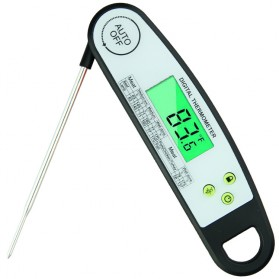 Digital Food Thermometer Daging Makanan Kitchen Cooking BBQ - DTH-128 - Black