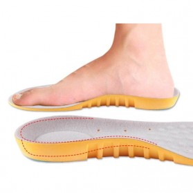 SUNVO Alas Sol Dalam Sepatu Olahraga Running Cushion Insole Size S - L3 - Yellow - 4