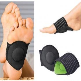 Pelindung Engkel Kaki Arch Foot Support 1 Pasang - Z101 - Black