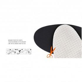 Sol Dalam Sepatu Memory Cotton Heel 4CM - E002 - Black - 3