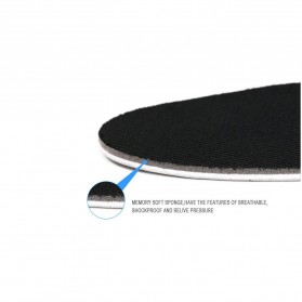 Sol Dalam Sepatu Memory Cotton Heel 4CM - E002 - Black - 4