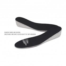 Sol Dalam Sepatu Memory Cotton Heel 4CM - E002 - Black - 5