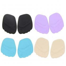 Insole 3D Alas Kaki Sepatu Depan Silicone Gel Liner Grip Wanita - ZYD17 - Black - 2