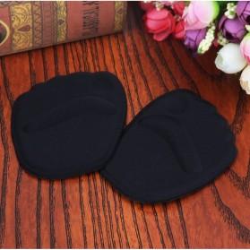 Insole 3D Alas Kaki Sepatu Depan Silicone Gel Liner Grip Wanita - ZYD17 - Black - 3