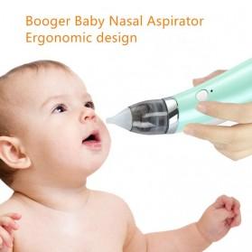 Little Bees Baby Nasal AspiratorAlat Pembersih Hidung Bayi Elektrik - XN-8031 - Green