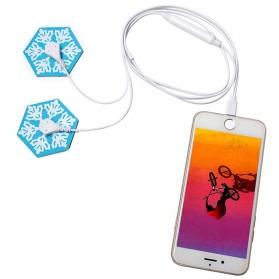 Blue Snow Alat Pijat Elektrik for Smartphone - KWL022 - White - 2
