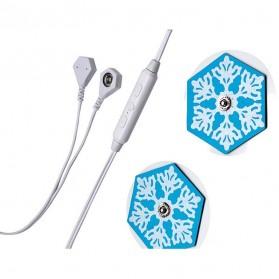 Blue Snow Alat Pijat Elektrik for Smartphone - KWL022 - White - 4