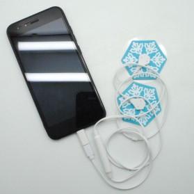 Blue Snow Alat Pijat Elektrik for Smartphone - KWL022 - White - 5