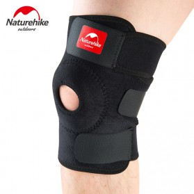 Naturehike Adjustable Kneepad Power Brace- NH15A001-M - Black