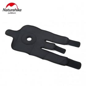 Naturehike Adjustable Kneepad Power Brace- NH15A001-M - Black - 3