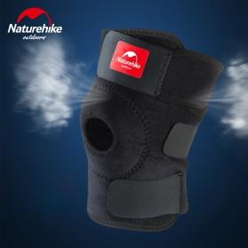 Naturehike Adjustable Kneepad Power Brace- NH15A001-M - Black - 4