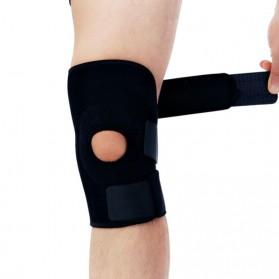 Naturehike Adjustable Kneepad Power Brace- NH15A001-M - Black - 5