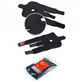 Naturehike Adjustable Kneepad Power Brace- NH15A001-M - Black - 7