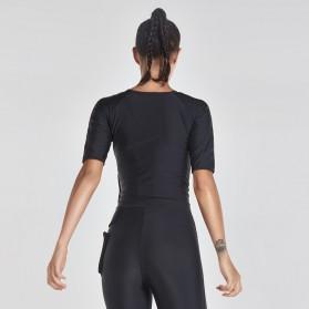 Vansydical Rompi Korset Pelangsing Hot Shaper Push Up Slimming Vest - Size S - Black - 5