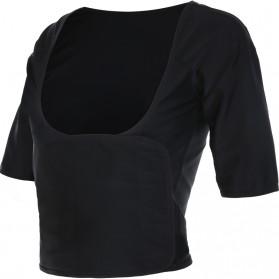 Vansydical Rompi Korset Pelangsing Hot Shaper Push Up Slimming Vest -  Size XXL - Black - 2