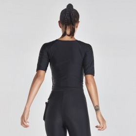 Vansydical Rompi Korset Pelangsing Hot Shaper Push Up Slimming Vest -  Size XXL - Black - 5