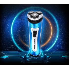 Kemei Alat Cukur Elektrik 3D Shaver Trimmer Razor - KM-2801 - 7