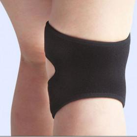 AOLIKES Pelindung Lutut Olahraga Fitness Knee Support Brace Guard - A-7929 - Black - 3