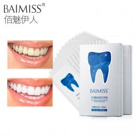 BAIMISS Strip Pemutih Gigi Ultra Whitening 7 PCS - White