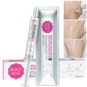 Perawatan Kulit - BEAUTY HOST Serum Wajah Micro Water Anti Aging Oil Control 10ml - White