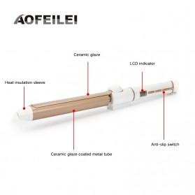 AOFEILEI Catok Rambut Keriting Curler Roller 360 Rotate - X818 - Golden - 10