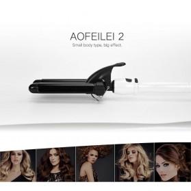 AOFEILEI Catok Rambut Triple Barrels Wave Curly Hair - X8822B - Black - 2