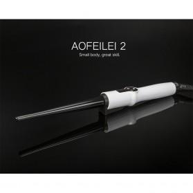 AOFEILEI Catok Rambut Keriting Curler Roller dengan Layar LED - X8399 - Black - 2