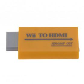 ONLENY Video Konverter Nintendo Wii ke HDMI Port - WL1344 - Yellow