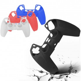 Rondaful Gamepad Controller Silicone Protective Case Cover for Playstation 5 - ED023 - Black
