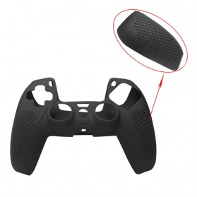 Rondaful Gamepad Controller Silicone Protective Case Cover for Playstation 5 - ED023 - Black - 2