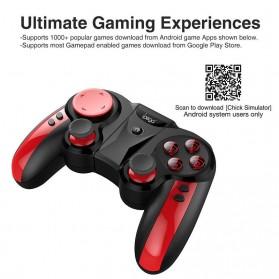 Ipega Wireless Bluetooth Gamepad - PG-9089 - Black - 3