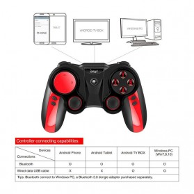 Ipega Wireless Bluetooth Gamepad - PG-9089 - Black - 6