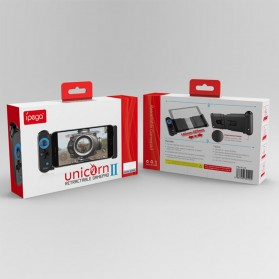 IPEGA Unicorn II One-Handed Telescopic Retractable Gamepad Bluetooth MOBA PUBG FPS - PG-9120 - Black - 6