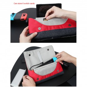 BUBM Protective Carry Case for Nintendo Switch - SWITCH-HG - Red - 7