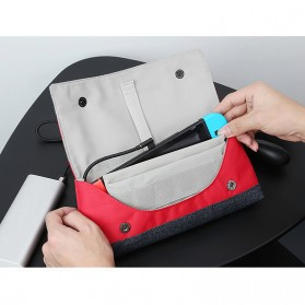 BUBM Protective Carry Case for Nintendo Switch - SWITCH-HG - Red - 8