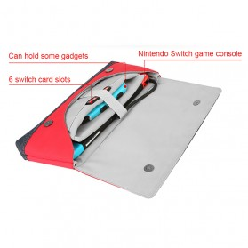 BUBM Protective Carry Case for Nintendo Switch - SWITCH-HG - Red - 10
