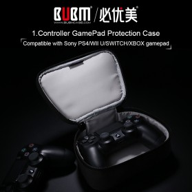 BUBM Gamepad Controller Protective Carry Case 1 Slot - GSB-1 (ORIGINAL) - Black - 9