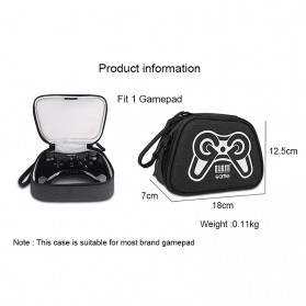 BUBM Gamepad Controller Protective Carry Case 1 Slot - GSB-1 (ORIGINAL) - Black - 10
