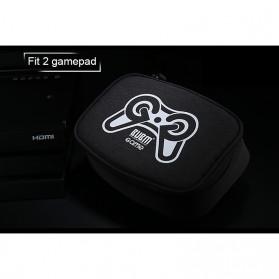 BUBM Gamepad Controller Protective Carry Case 2 Slot - GSB-2 (ORIGINAL) - Black - 5