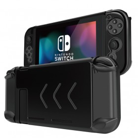 Hardcase Aluminium Shell for Nintendo Switch - NS-012 - Black