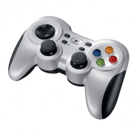 Logitech Wireless Gamepad - F710 - Silver
