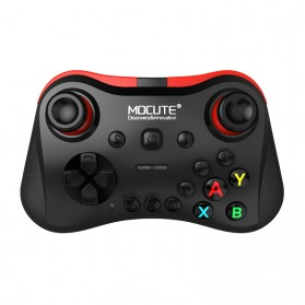 MOCUTE Gamepad Bluetooth for Moba FPS L1 R1 22 Tombol - 056 - Black