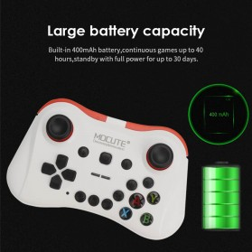 MOCUTE Gamepad Bluetooth for Moba FPS L1 R1 22 Tombol - 056 - White - 6