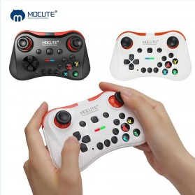 MOCUTE Gamepad Bluetooth for Moba FPS L1 R1 22 Tombol - 056 - White - 7