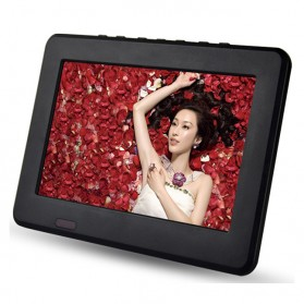 Portable TV Monitor 7 Inch DVB-T2 + Analog - D7 - Black