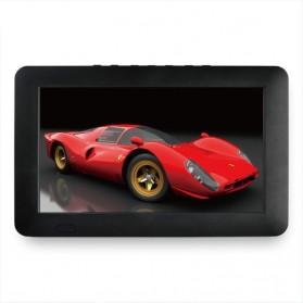 Portable TV Monitor 7 Inch DVB-T2 + Analog - D7 - Black - 4